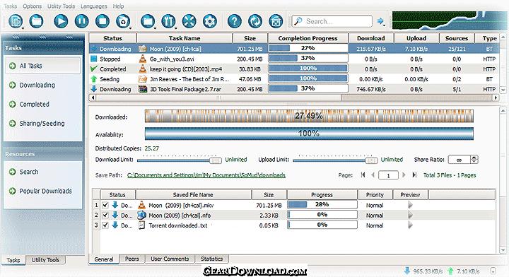 Somud: makkelijker downloaden via torrents
