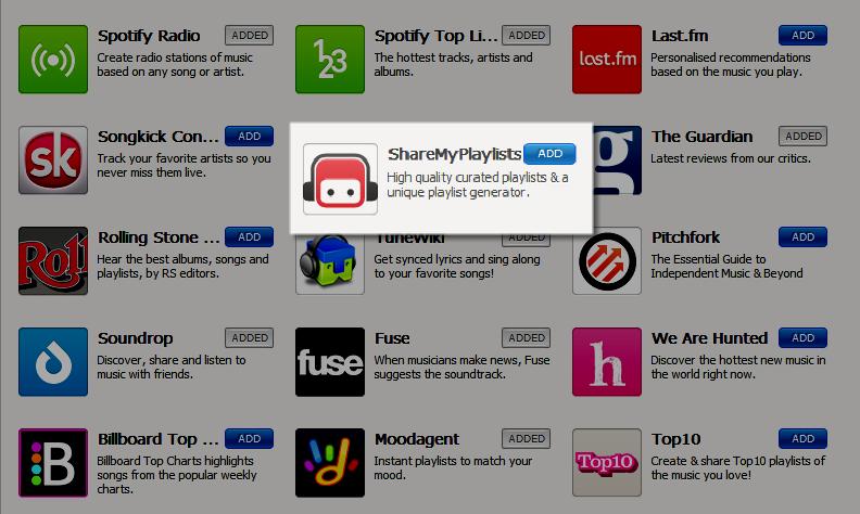 Eindelijk echt playlists delen in Spotify