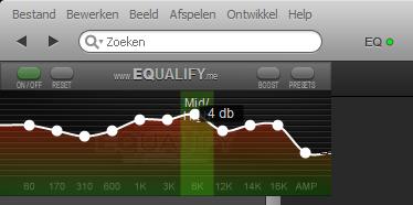 Nieuwe versie Equalify, de equalizer voor Spotify