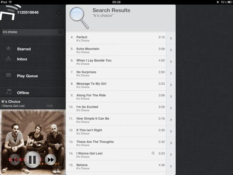 Eindelijk een Spotify App voor de iPad