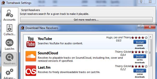 Uren in Spotify op? Grijp de Tomahawk!