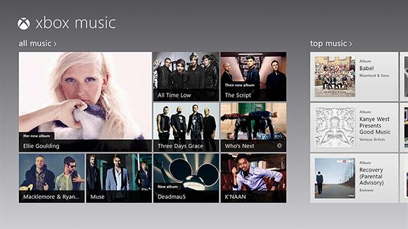Xbox Music opent aanval op Spotify en iTunes