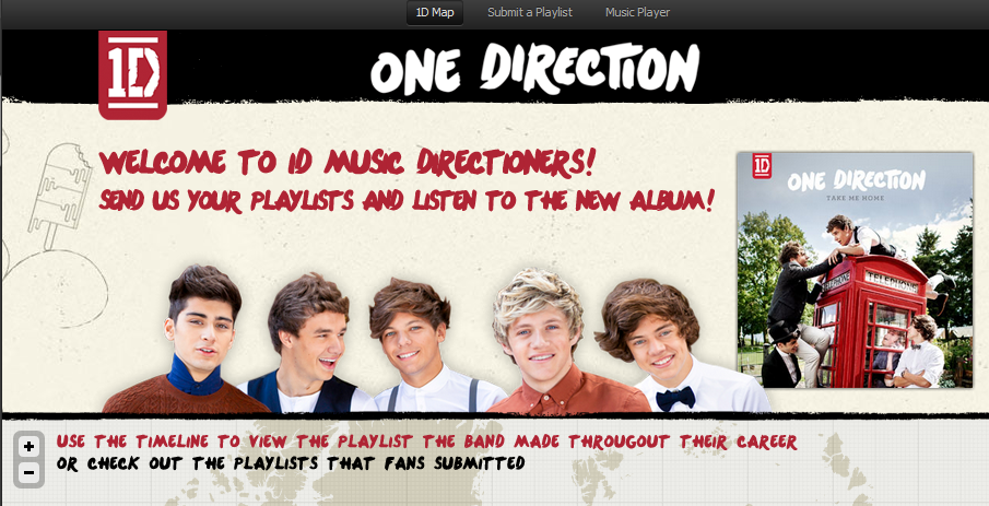Nieuwe albums en Spotify Apps van One Direction en Cazzette