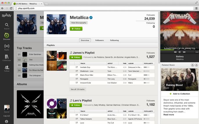 Nog makkelijker muziek ontdekken met Spotify