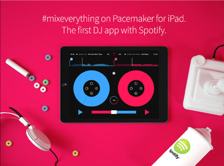 Pacemaker: mix tracks van Spotify op je iPad