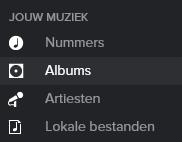 Spotify jouw muziek
