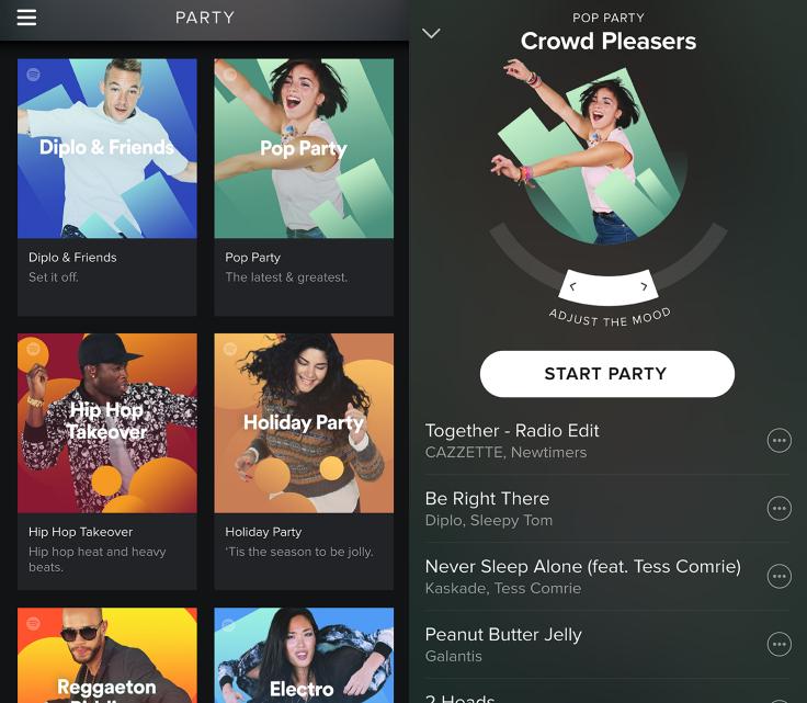 Feest met Spotify Party